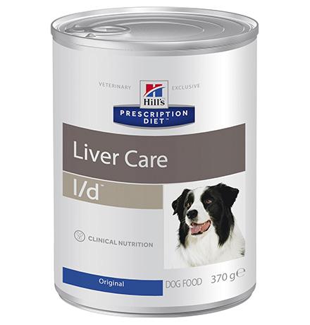 Hills Prescription Diet Canine l/d / Лечебные консервы Хиллс l/d для собак Заболевание печени (цена за упаковку)