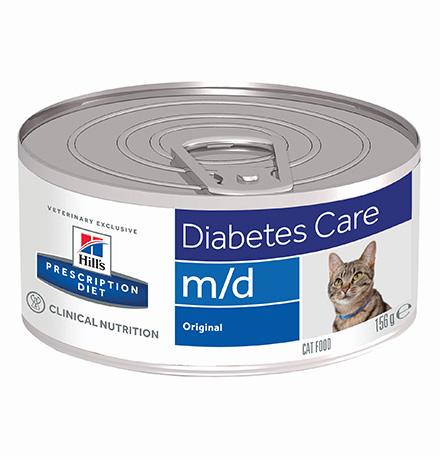 Hills Prescription Diet Feline m/d / Лечебные консервы Хиллс m/d для кошек Нарушение обмена веществ (цена за упаковку)