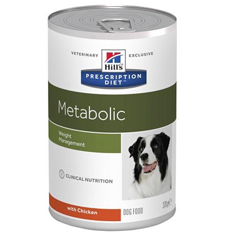 Hills Prescription Diet Metabolic Canine Original / Лечебные консервы Хиллс Метаболик Ориджинал для собак Коррекция веса (цена за упаковку)