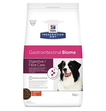 Hills Prescription Diet Canine Gastrointestinal Biome / Сухой диетический корм Хиллс для собак при Расстройствах пищеварения и для заботы о микробиоме кишечника Курица