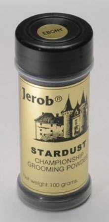 Jerob Star Dust Grooming Powder Medium Blue / Оттеночная пудра Жероб для шерсти животных Голубая