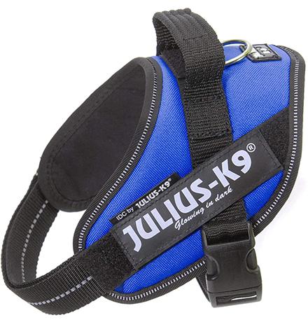 JULIUS-K9 IDC®-Powerharness / Шлейка Джулиус К9 для собак Синий