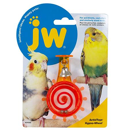 JW Activitoys Hypno Wheel / Игрушка для птиц Штурвал с бубенчиками пластик