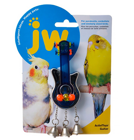 JW Activitoys Guitar / Игрушка для птиц Гитара пластик