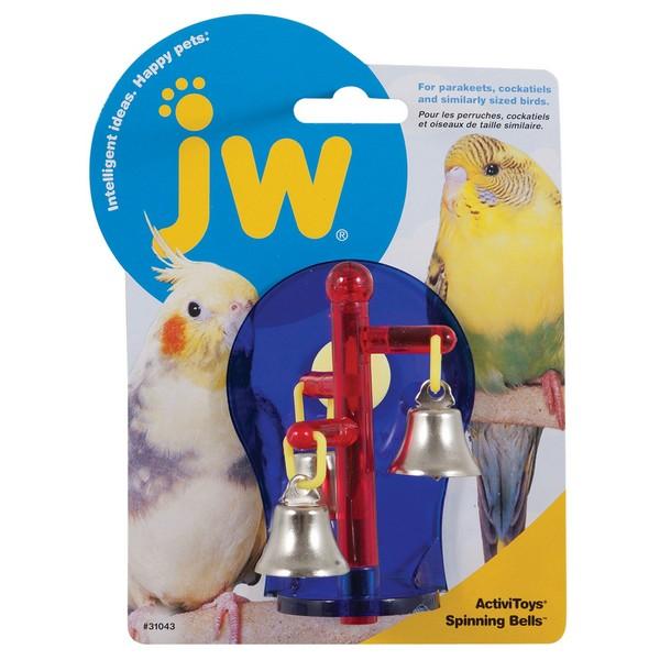 JW Sprinning Bells / Игрушка для птиц Крутящиеся колокольчики пластик