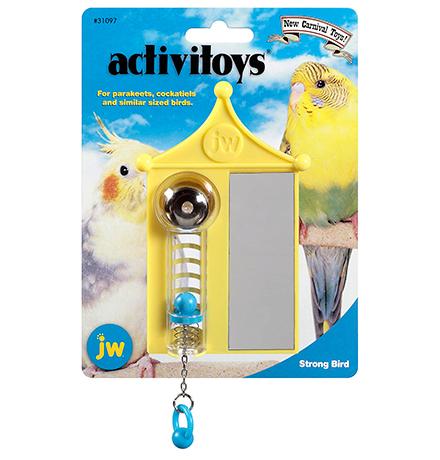 JW Activitoys Strong Bird / Игрушка для птиц Спортивный зал пластик