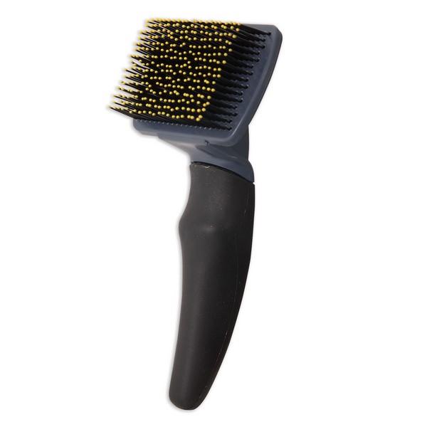JW Grip Soft Brush / Щетка массажная для кошек с Облитыми кончиками пластик