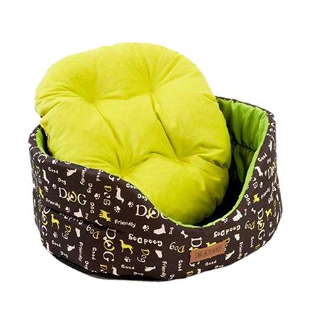 Katsu Yohanka shine Dogs / Лежак Катсу для животных Зеленый