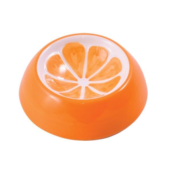 КерамикАрт / Миска керамическая для грызунов Апельсин