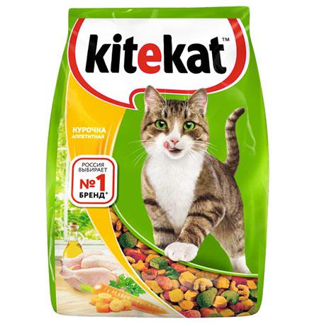 Kitekat Китикет Сухой корм для кошек Аппетитная Курочка