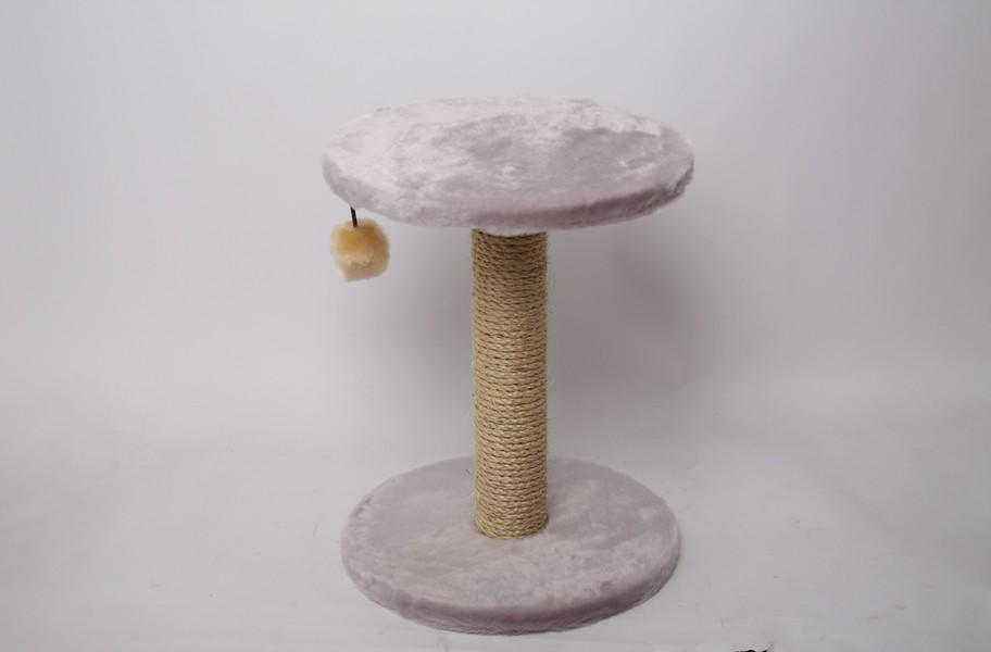 Лион / Когтеточка для кошек Исскуственный мех Веревка джут 30х40х30см