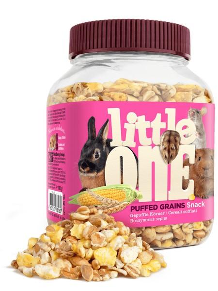 Little One Snack Puffed / Лакомство Литтл Уан для грызунов Воздушные зерна Смесь зерен Кукурузы, Пшеницы, Ячменя