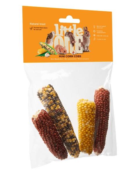 Little One Mini corn cobs / Лакомство Литтл Уан для грызунов Мини-кукуруза