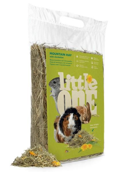 Little One Mountain Hay with Dandelion / Горное сено Литтл Уан для грызунов с Одуванчиком