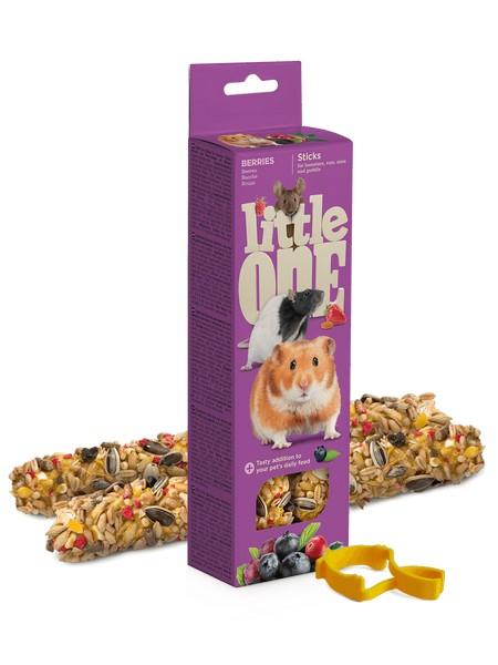Little One Sticks Berries / Палочки Литтл Уан для Хомяков Крыс Мышей Песчанок Ягоды