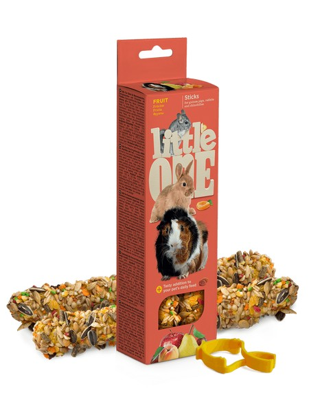 Little One Sticks Fruit / Палочки Литтл Уан для Морских свинок Кроликов Шиншилл Фрукты