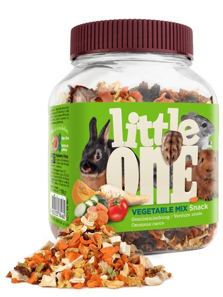 Little One Snack Vegetables mix / Лакомство Литтл Уан для грызунов Овощная смесь