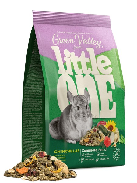 Little One Green Valley food for chinchillas / Корм Литтл Уан для Шиншилл Разнотравье