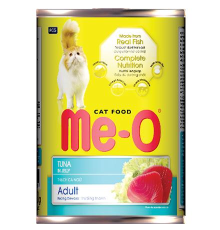 Me-O Cat Adult Tuna / Консервы Мио для взрослых кошек Тунец (цена за упаковку)