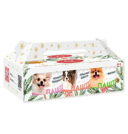 Мнямс Новогодний набор Консервы для собак Ассорти вкусов (цена за упаковку)