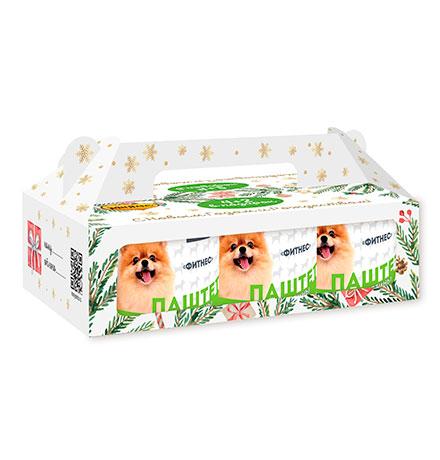 Мнямс Новогодний набор Консервы для собак Фитнес (цена за упаковку)