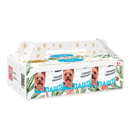 Мнямс Новогодний набор Консервы для собак Сильный иммунитет (цена за упаковку)