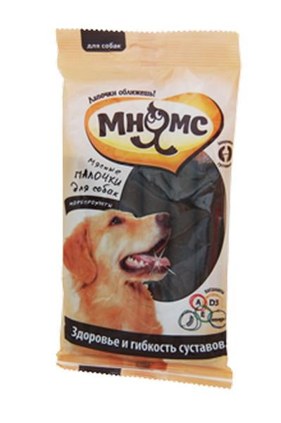 Мнямс Лакомство для собак Мясные палочки Морепродукты Здоровье и гибкость суставов