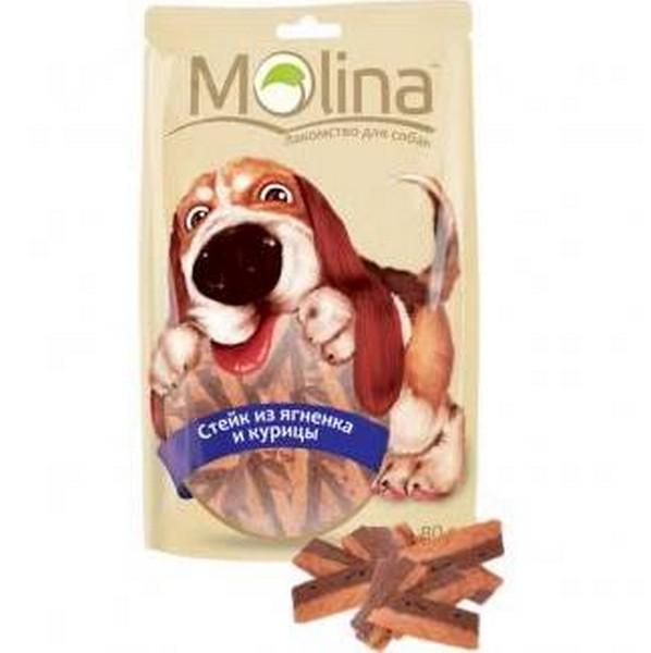 Molina Promo / Лакомство Молина для собак Стейк из ягненка и курицы