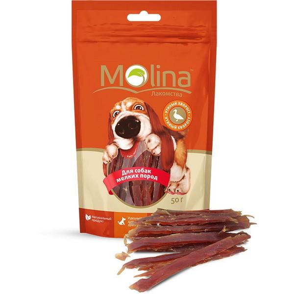 Molina / Лакомство Молина для собак Мелких пород Утиный хворост