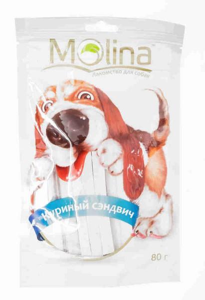 Molina / Лакомство Молина для собак Куриный сэндвич