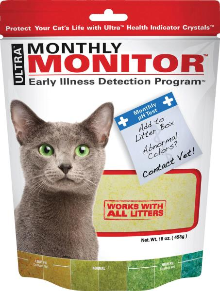 Neon Litter Monthly Monitor Индикатор PH мочи у кошек