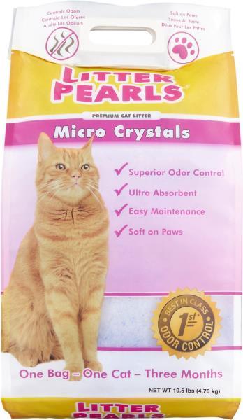 Neon Litter Pearls Наполнитель для кошачьего туалета Силикагелевый Комкующийся Белый