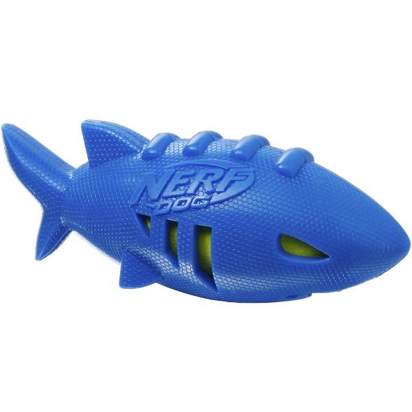 Nerf Dog / Игрушка Нёрф Дог для собак Акула плавающая