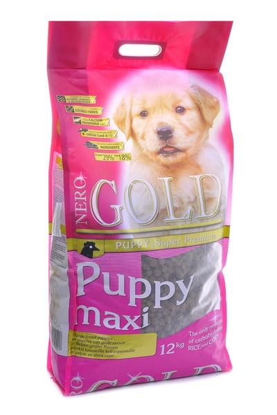 NERO GOLD super premium Puppy Maxi / Сухой корм Неро Голд для Щенков Крупных пород Курица и рис