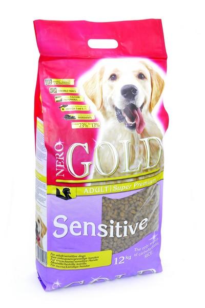 NERO GOLD super premium Sensitive Turkey / Сухой корм Неро Голд для Чувствительных собак Индейка и рис