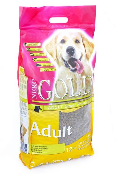 NERO GOLD super premium Adult / Сухой корм Неро Голд для взрослых собак Курица и рис