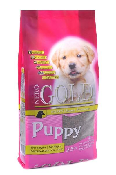 NERO GOLD super premium Puppy / Сухой корм Неро Голд для Щенков Курица и рис