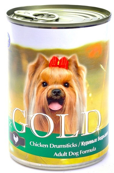 NERO GOLD Chicken Drumsticks / Консервы Неро Голд для собак Куриные бедрышки (цена за упаковку)