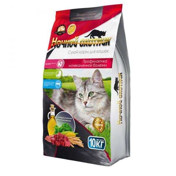 Ночной охотник / Сухой корм для кошек Профилактика МКБ