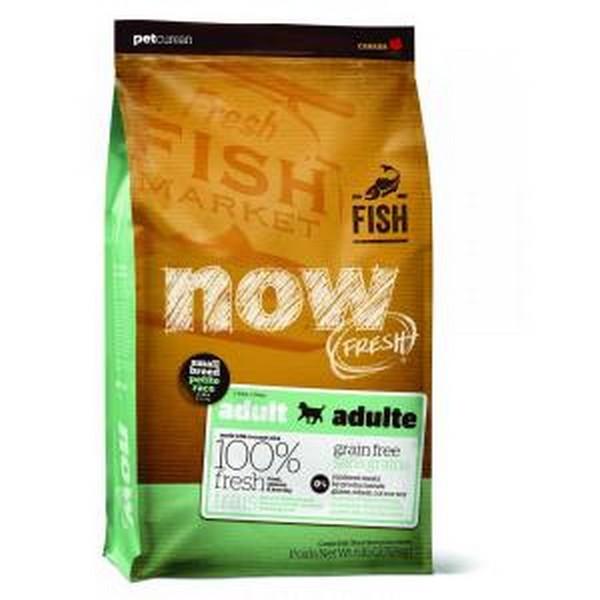 NOW Natural holistic Fresh Small Breed Recipe Fish Grain Free 27/17 / Сухой корм Нау Фреш Беззерновой для собак Мелких пород Всех возрастов Форель Лосось Овощи