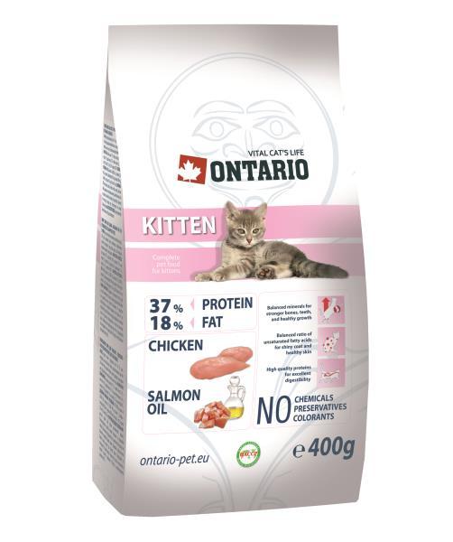 Ontario Kitten / Сухой корм Онтарио для Котят с Курицей