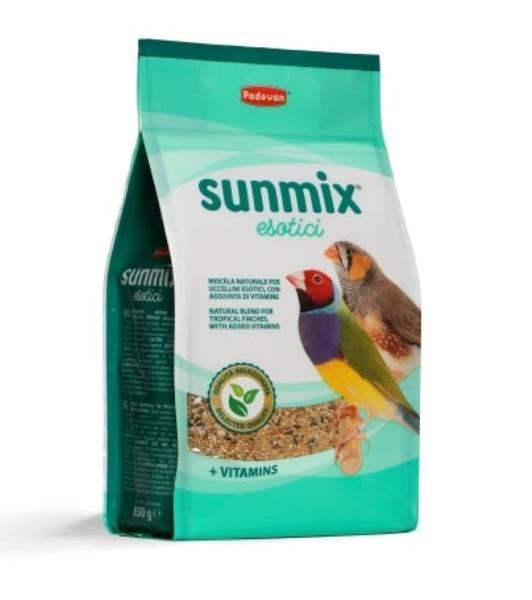 Padovan Sunmix Esotico / Корм Падован для Тропических птиц Комплексный Основной