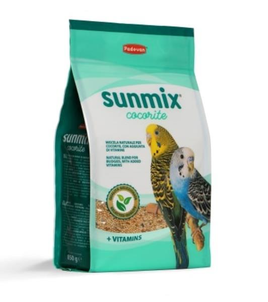 Padovan Sunmix Cocorite / Корм Падован для Волнистых попугаев Комплексный Основной