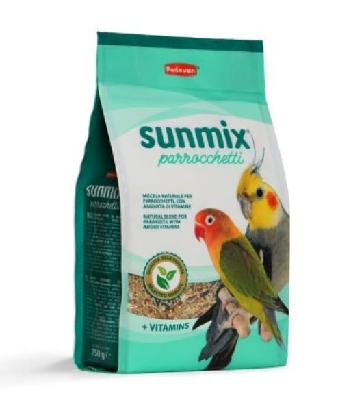Padovan Sunmix Parrocchetti / Корм Падован для Средних попугаев Комплексный Основной