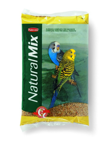 Padovan Naturalmix Cocorite / Корм Падован для Волнистых попугаев Основной