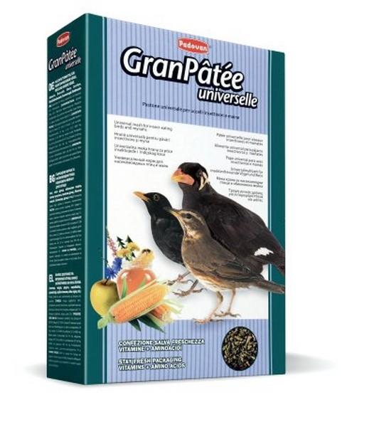 Padovan GranPatee universelle / Корм Падован для Насекомоядных птиц Комплексный Универсальный