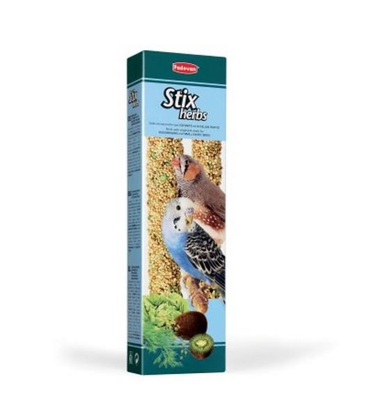 Padovan Stix Herbs / Лакомство Падован для Попугаев и Экзотических птиц Палочки Антистрессовые с травами