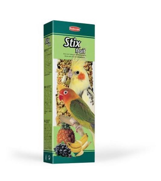 Padovan Stix Fruit / Лакомство Падован для Средних попугаев Палочки Фруктовые