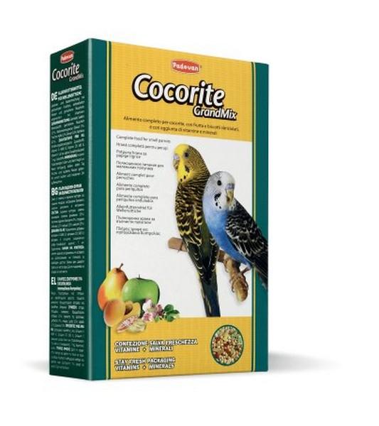 Padovan Grandmix Cocorite / Корм Падован для Волнистых попугаев Комплексный Основной