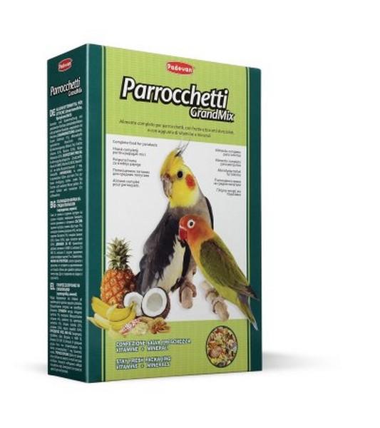 Padovan Grandmix Parrocchetti / Корм Падован для Средних попугаев Комплексный Основной